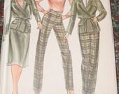 Butterick Shirt Jacket and Skirt Pattern 3467 by Daniel Hechter Uncut Size 10