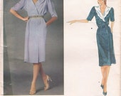 Vintage Vogue Designer Pattern by Emanuel Ungaro 2720 Size 10 Uncut