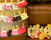 Doll-Making Kit by Raspberry&Chocolate--includes 8 dolls-- perfect for girls' birthday parties/tea parties--