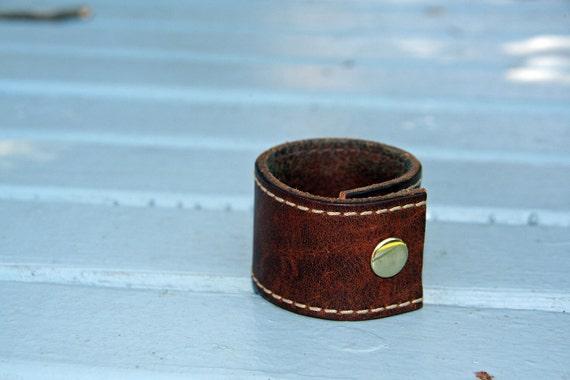 kid cuffs:  leather cuffs for children & teens