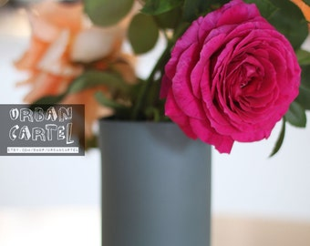 vase en porcelaine (couleur ardoise)