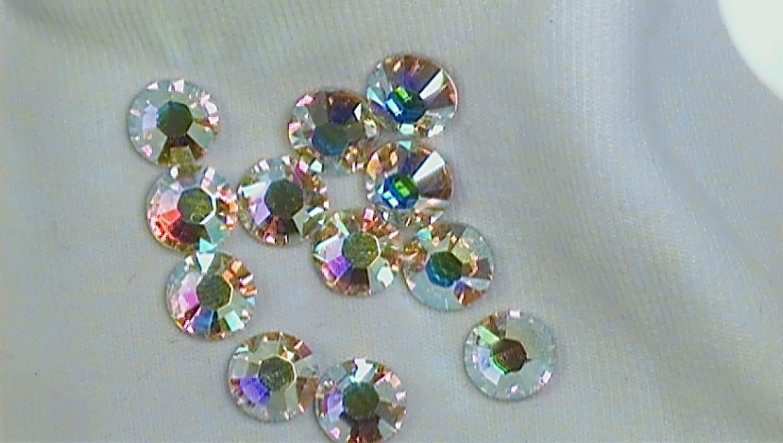 crystal ab 2028 swarovski elements rhinestones 16ss flatback
