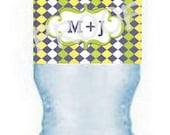 """300 8"""" x 2"""" Custom Waterproof Water Bottle Lables"""