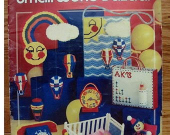 Small World Bazaar - plastic canvas - Needleworks no. 109