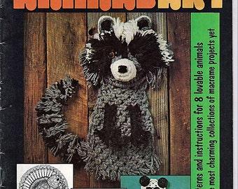 Macrame Animal Art Volume II  Macrame Pattern Book 7122
