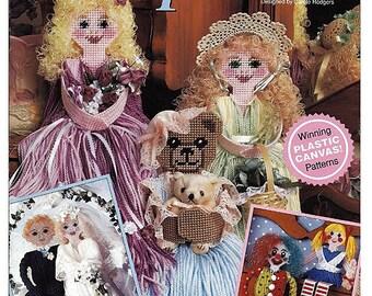 Mop Dolls Plastic Canvas Pattern book The Needlecraft Shop 903702