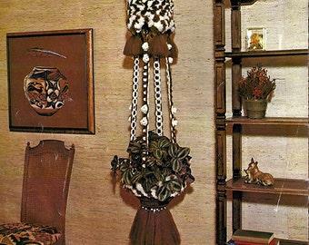 Macra Sculpture Lee Originals Macrame Pattern Book