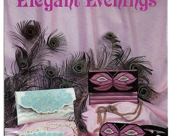 Elegant Evenings Plastic Canvas Pattern Pat Depke PD-5506