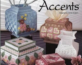 Oriental Accents Plastic Canvas Pattern  The Needlecraft Shop 903304