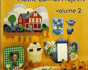 Easy to Make Plastic Canvas Projects Volume 2   American School of Needlework Booklet 3020