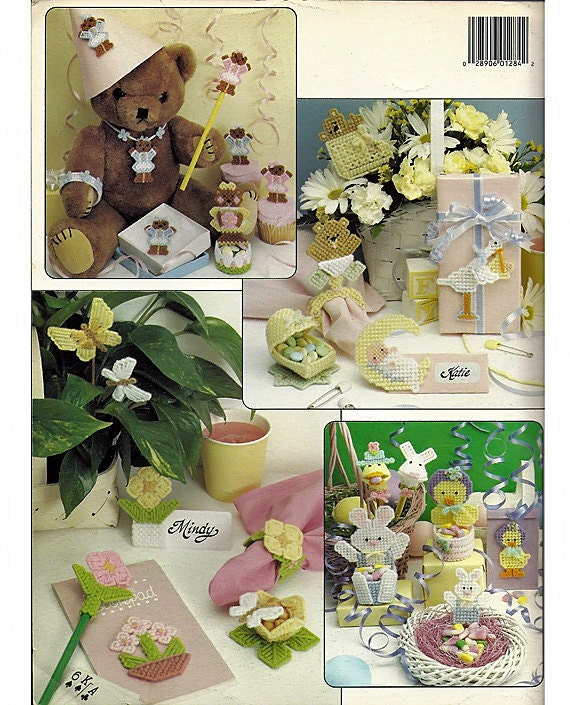 Party Favors in Plastic Canvas    Leisure Arts 1284
