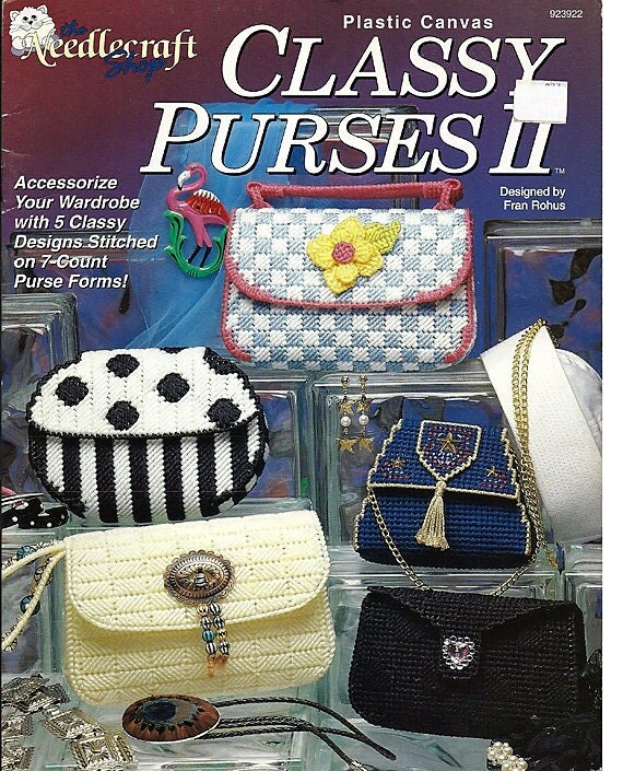 Plastic Canvas Classy Purses Ii The By Grammysyarngarden