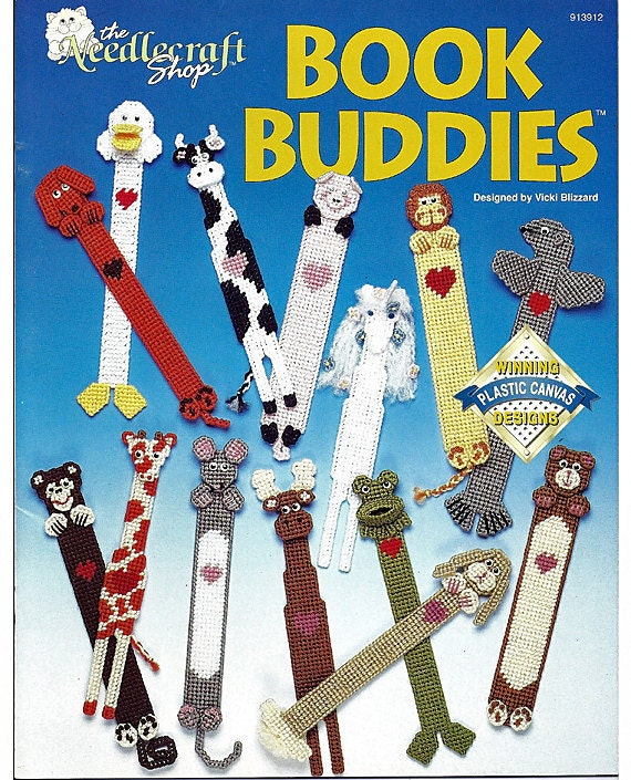 Book Buddies  Plastic Canvas  The Needlecraft Shop 913912