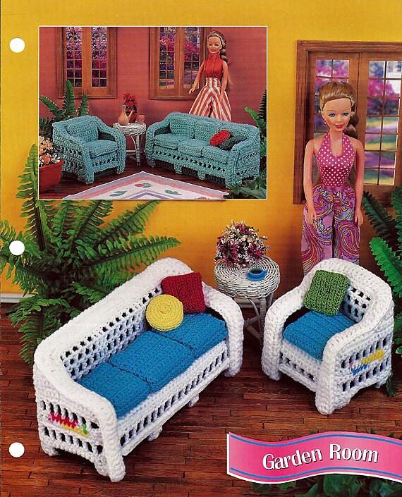 Garden Room Barbie Furniture Pattern Annies Fashion Doll