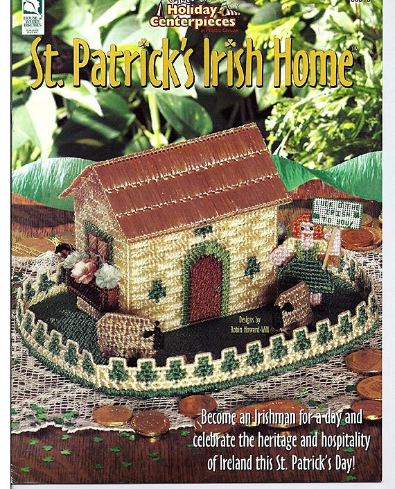 St. Patrick's Irish Home : Easy Holiday Centerpieces in Plastic Canvas