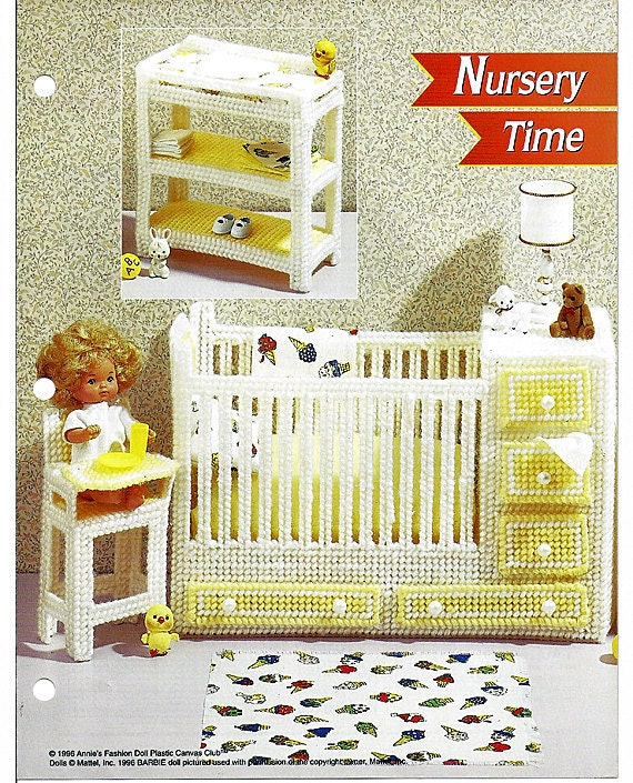 Nursery Time Fashion Doll Furniture Annie 39 S Plastic