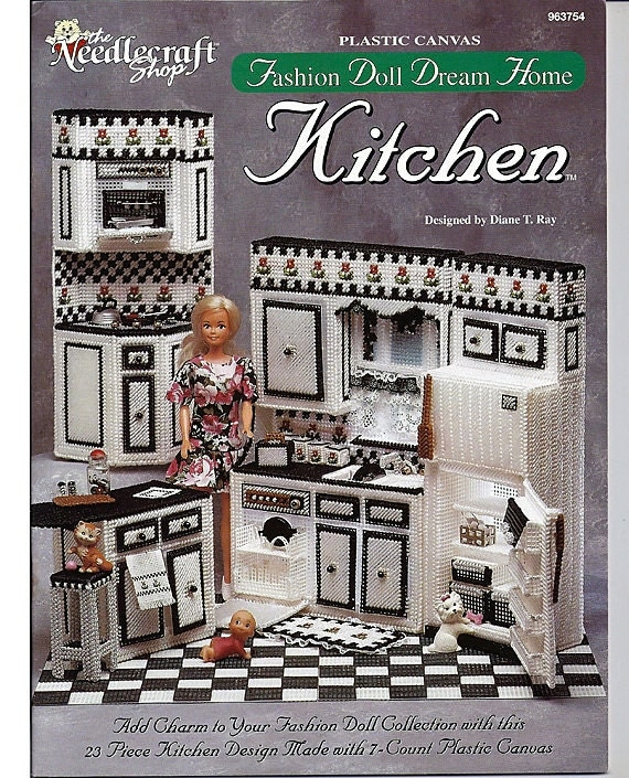 Rare Otp Fashion Doll Dream Home Kitchen By Grammysyarngarden