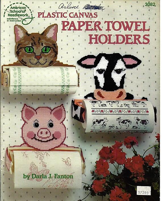 Paper Towel Holders in Plastic Canvas by Darla J. Fanton