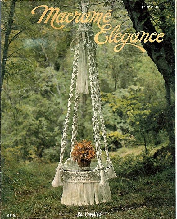 Macrame Elegance Macrame Pattern Book Gs1m