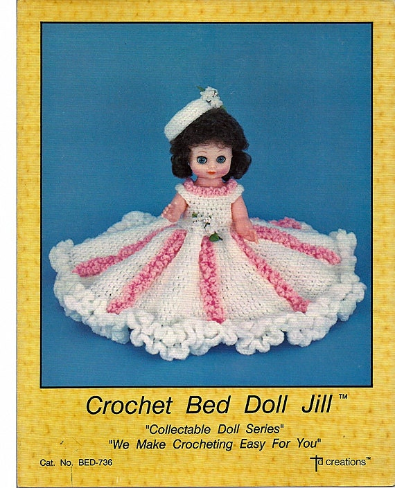 Rilakkuma Amigurumi Pattern English : Crochet Bed Doll Jill Collectable doll series by ...