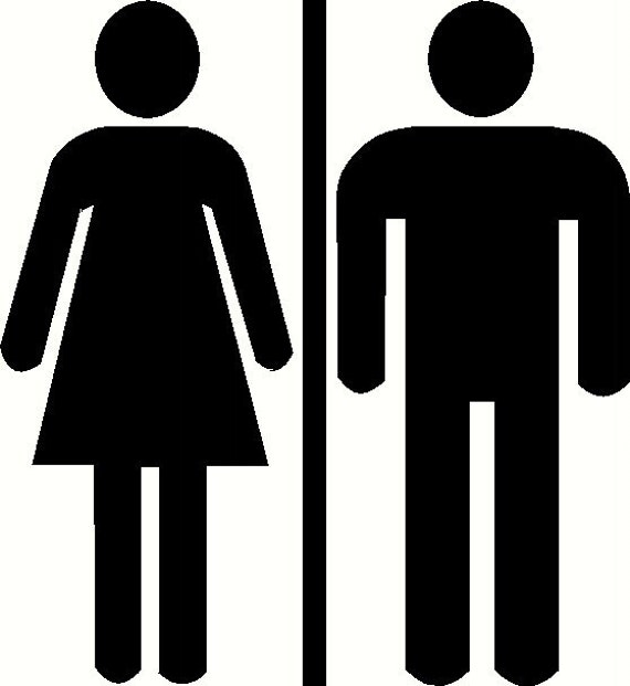 restroom decal  etsy,