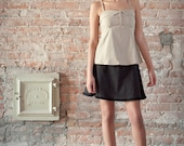Perse- Sand colored light A line camisole