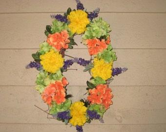 Small Oval Summer Wreath