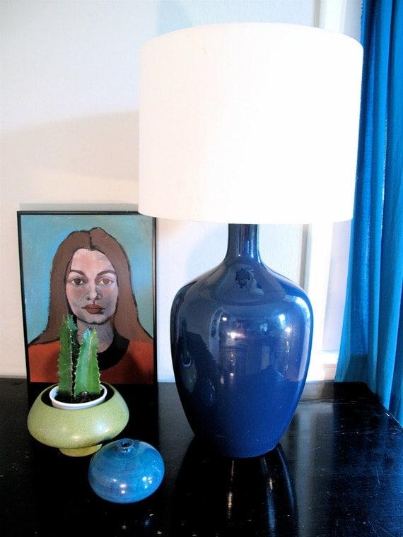 Mid Century Haeger Ceramic Table Lamp