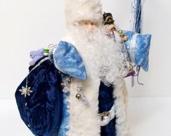 Winter Wonderland Santa Doll