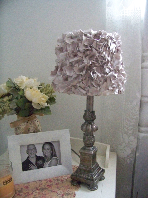 Romantic beautiful shabby chic lamp shades