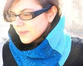 Reserved for Lola - Blue Neckwarmer