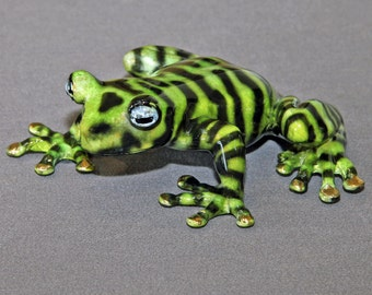 """Newly discovered """"TIGER FROG"""" replica in BRONZE  / Limited Edition / Signed & Numbered"""