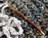 Rustic Oak Yarn Needle - Handmade Eco-Friendly