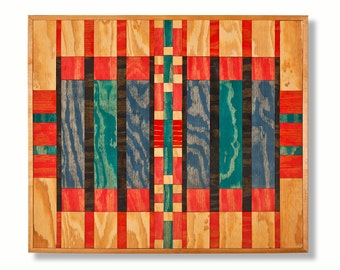 Trade Blanket Wood Wall Hanging