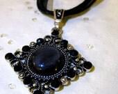 striking gothic necklace