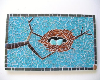 Turquoise Nest Mosaic