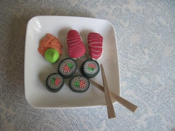 AG Sushi Roll and Nigiri Combo Set