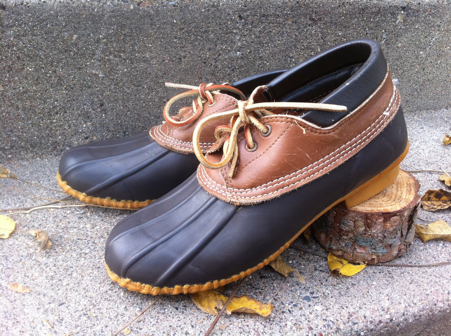 Duck Leather Shoes