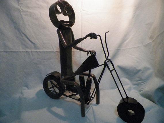 Metal Man Motorcycle
