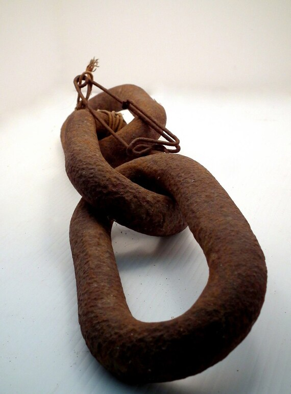 Vintage Industrial Haunted Salvage Chain