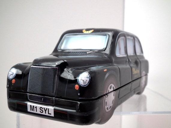 Vintage Tin Box London Taxi Souvenier Bentleys of London International Fathers Day