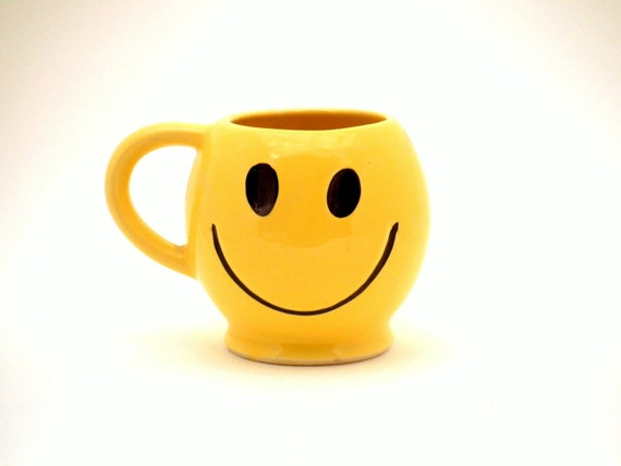 Mccoy Usa Smiley Face Coffee Drink Mug