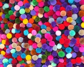500 1.5 inch  pom pom ,Plus 600 20MM< 100 purple  100 orange 100 white 100 black 100 red 100 blue>