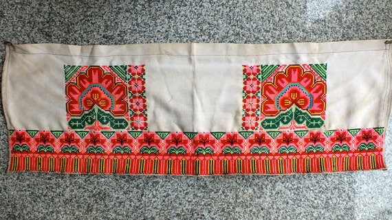 Vintage Hmong  Handmade Fabric, handmade tapestry and textiles, hill tribal fabrics