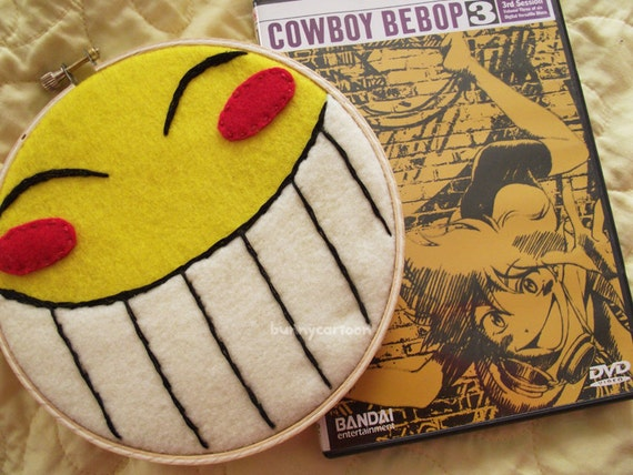 Cowboy Bebop Radical Edward Smiley Embroidery Art By 9981eed8adbc