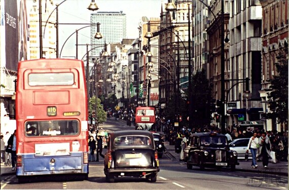 London photography double decker bus Europe photography black cab travel photograph London England landscapre photo 4x6 5x7 6x8 8x10 10x15