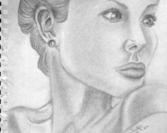 Custom Celebrity Drawing