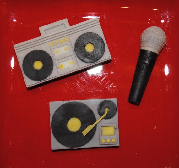 Stereo, Microphone & Record Player Chocolates