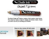 Chalk Ink Pen - Liquid Pen for Chalkboard Decals by Simple Shapes
