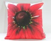 Garden Flowers Pillow Cover: Cherry Brandy Rudbeckia